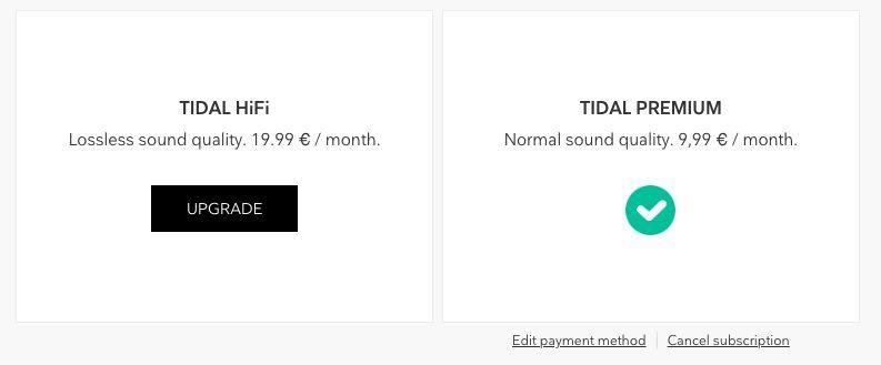 Музыкальный сервис Tidal — Доступ на 2 месяца бесплатно