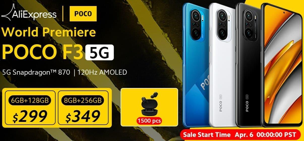 Повторный старт продаж смартфона Poco F3 по ценам как на официальном старте