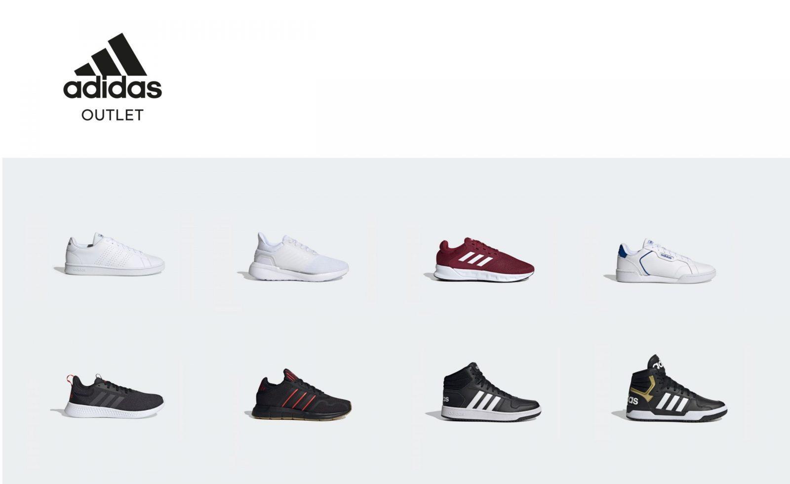 Подборка кроссовок из раздела Outlet магазина Adidas