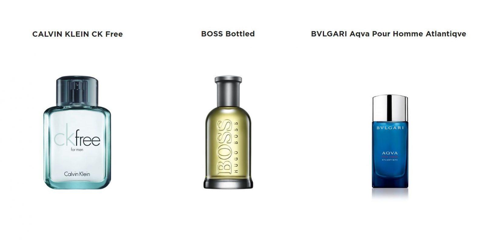 Небольшая подборка мужской парфюмерии из магазина Л'Этуаль
